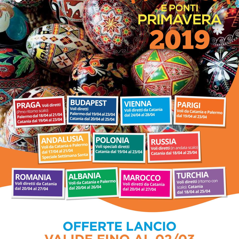 Catalogo Pasqua e Primavera 2019!